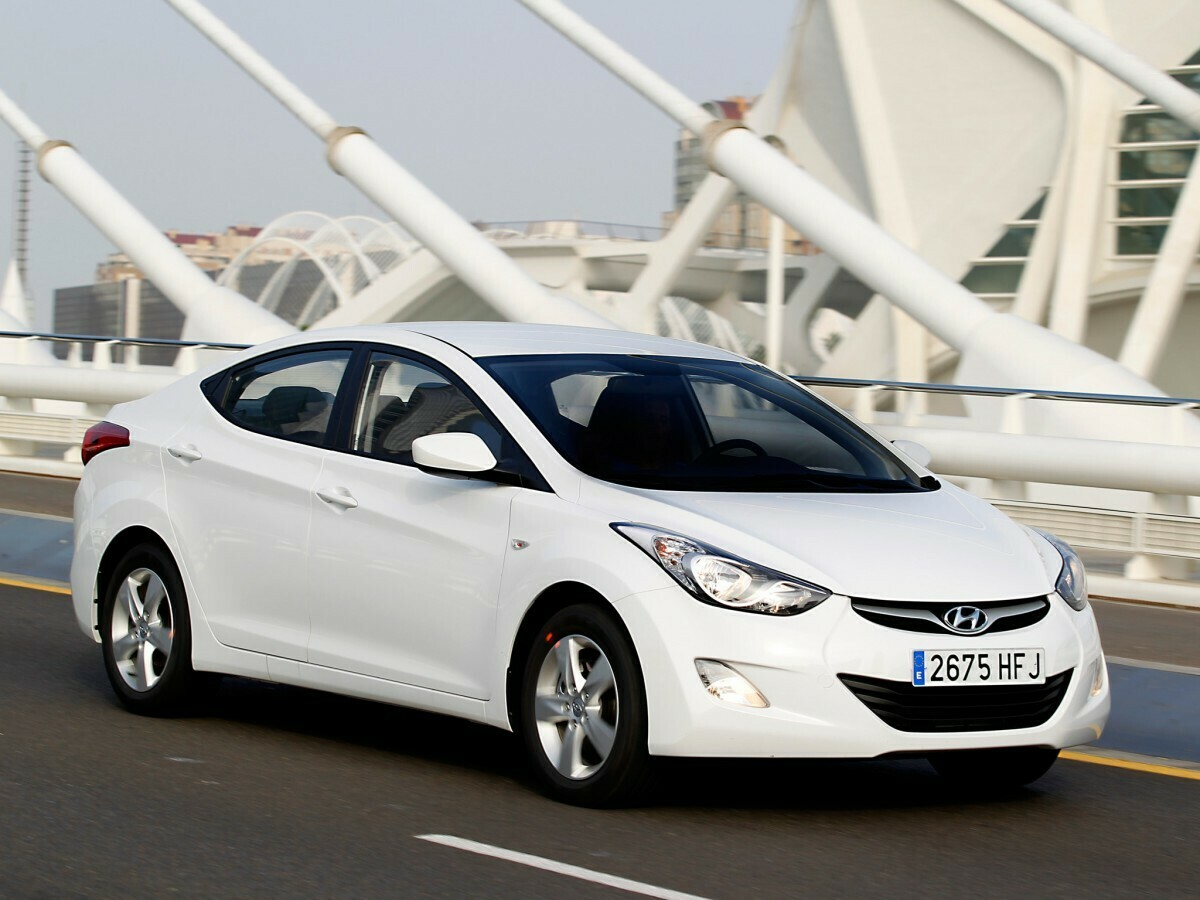 Hyundai Elantra 2.0i SIM2K-251 AD75R2MS654D 616Q054000000