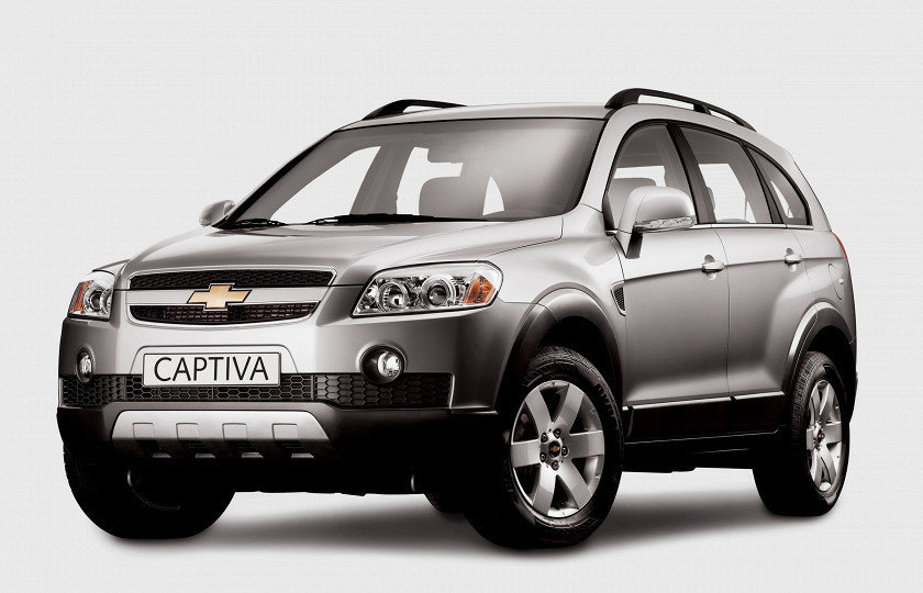 Chevrolet Captiva 2.4i ME7.9.9 0261208782 96991583
