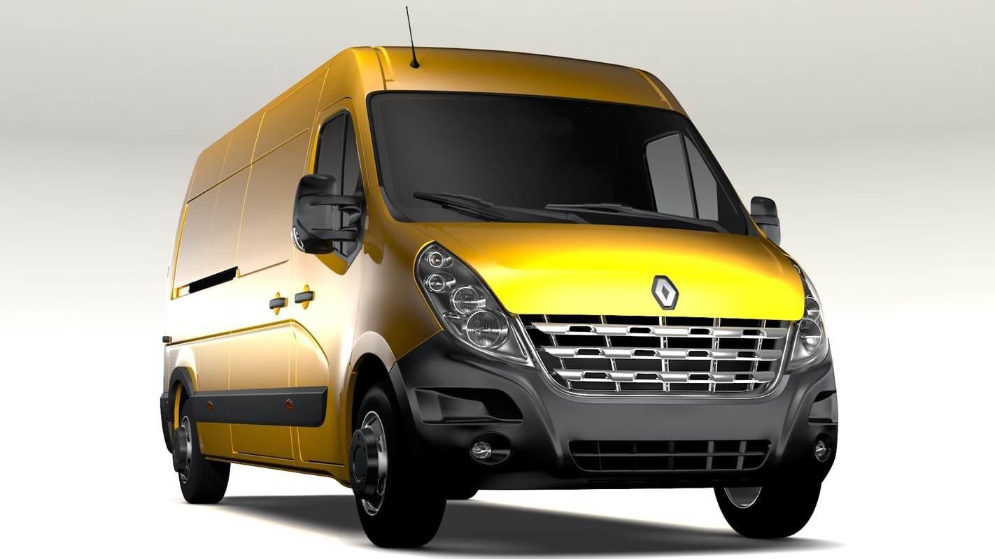 Renault Master 2.3DCI EDC17C42 1037541730