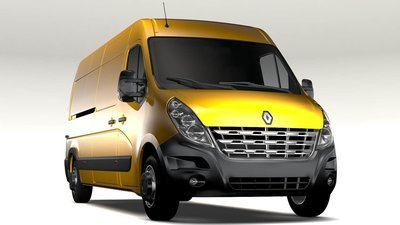 Renault Master 2.3DCI EDC17C42 1037541732