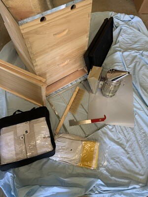 Bee Keeping Starter Kit 1 - 8 Frame plus Equipment