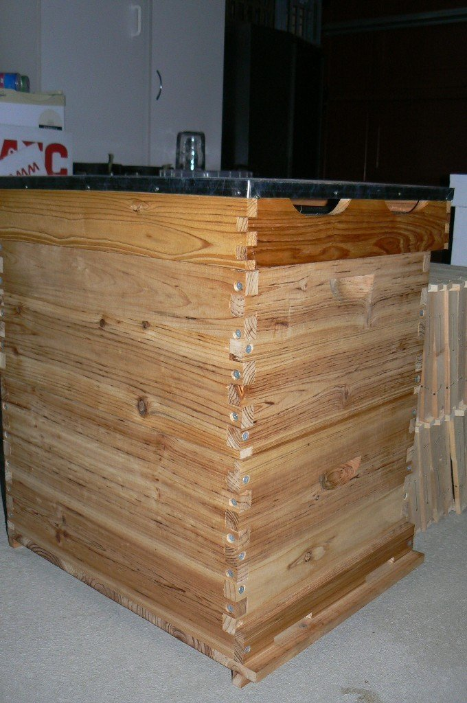 10 Frame hive combo - flat packed - unpainted