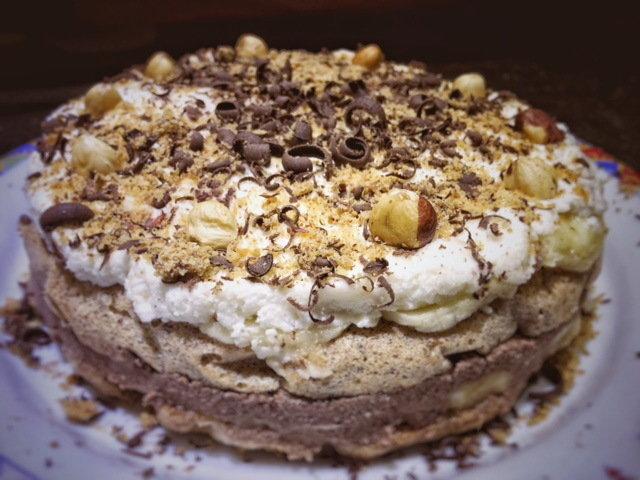 Čoko Banana torta ( Protein)