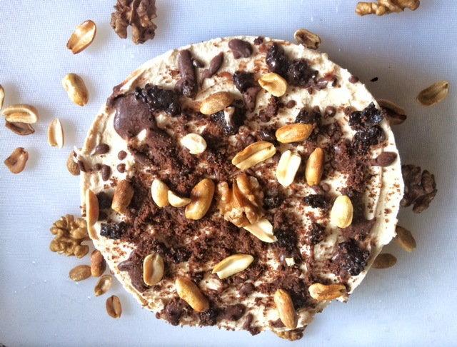 Kikiriki puter cheesecake (Protein)