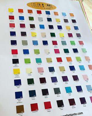 Farbplakat Dharma Acid Dyes