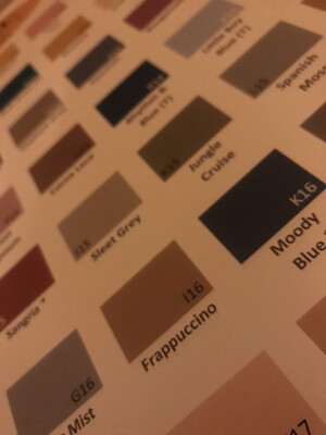 Farbplakat Special Dharma Fiber Reactive Dyes