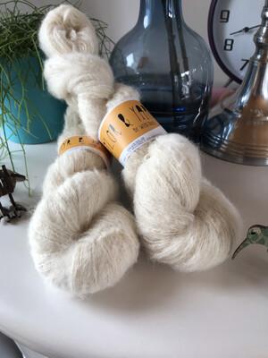 Fluff 1/4 nm 400 m / 100 G Alpaca Cotton Merino :-)