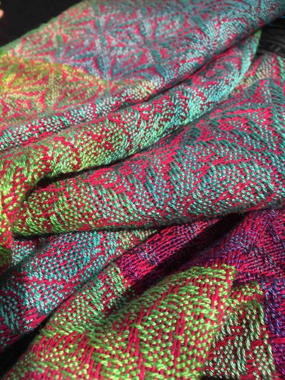 Anzahlung handgewobenes Tragetuch - Deposit hand woven sling