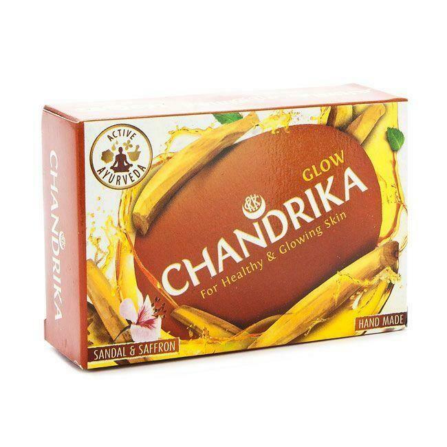 Chandrika Glow Sandal & Saffron Soap, 75g