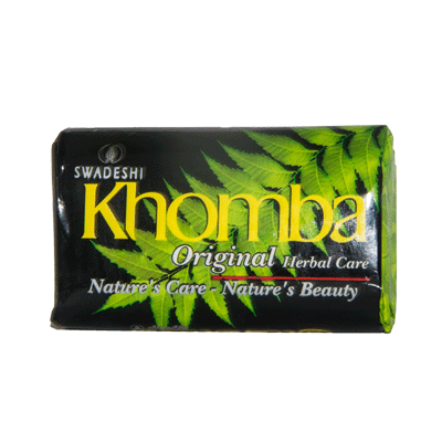 Khomba Original Herbal Care Soap, 75g