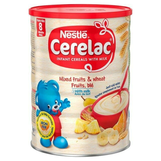 Nestle Cerelac Mixed Fruit and Wheat with Milk, 1kg