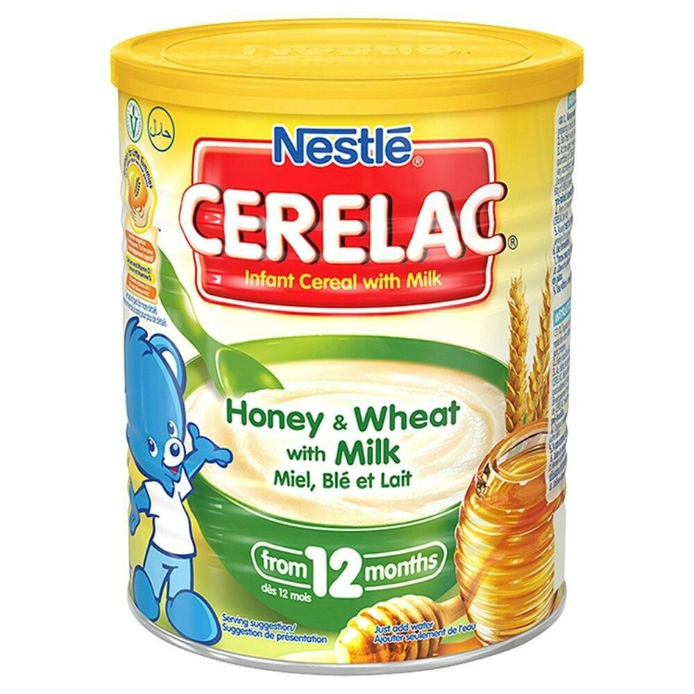 Nestle Cerelac Honey & Wheat with Milk, 400g