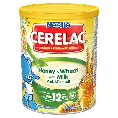 Nestle Cerelac Honey & Wheat with Milk, 400g