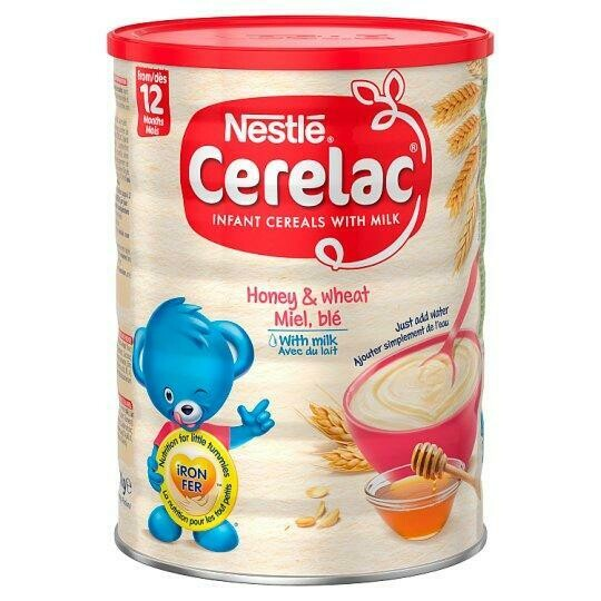 Nestle Cerelac Honey & Wheat with Milk, 1kg
