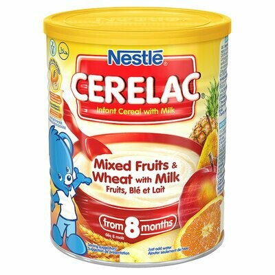 Nestle Cerelac Mixed Fruit and Wheat with Milk, 400g