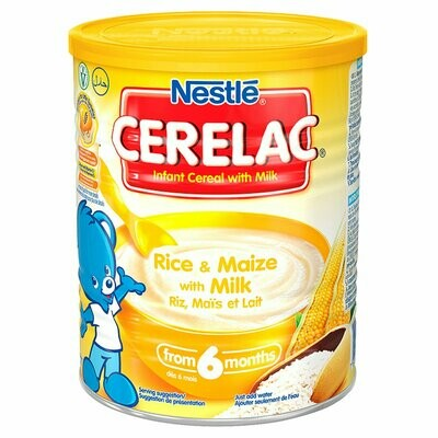 Nestle Cerelac Rice & Maize with Milk, 400g