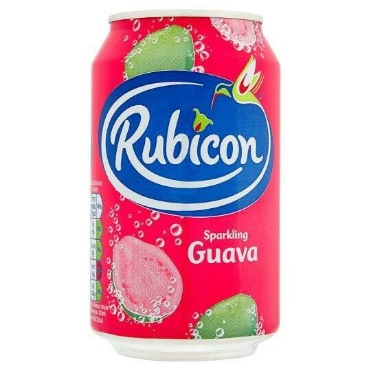 Rubicon Guava Sparkling Juice Drink, 330ml