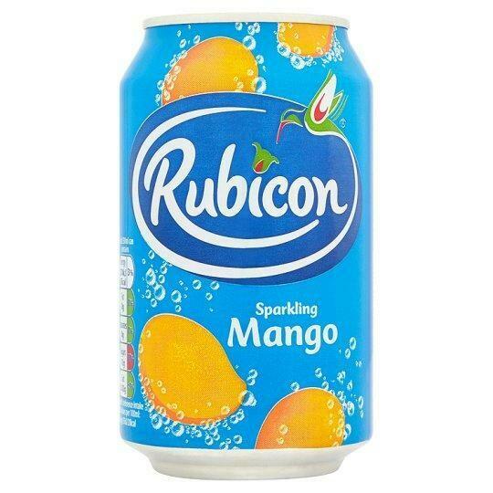 Rubicon Mango Sparkling Juice Drink, 330ml