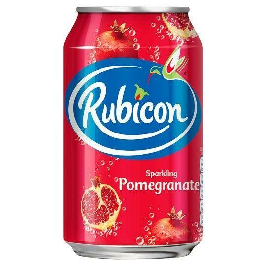 Rubicon Pomegranate Sparkling Juice Drink, 330ml