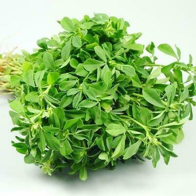 Fresh Methi Leaf (Fenugreek Leaf) Bunch, Each