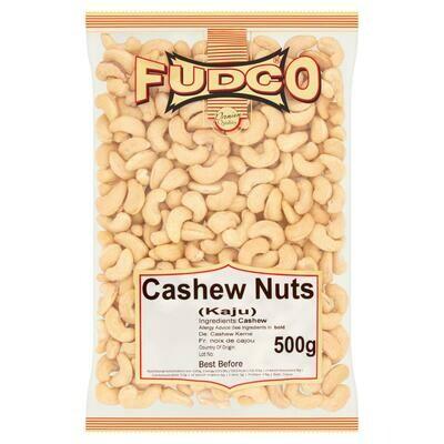 Fudco Cashew Nuts (Kaju), 700g