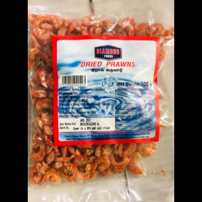 Diamond Dried Prawns / වේලු ඉස්සෝ 100g