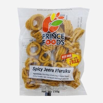 Prince Foods Spicy Jeera Murukku, 150g - Buy One Get One Free