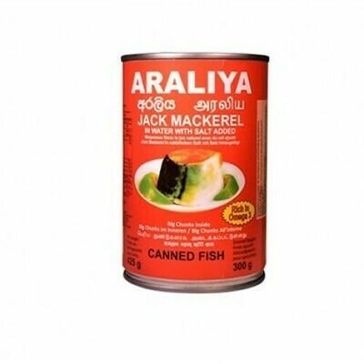 Araliya Jack Mackerel in Brine, 425g - Buy 2 for £3.00