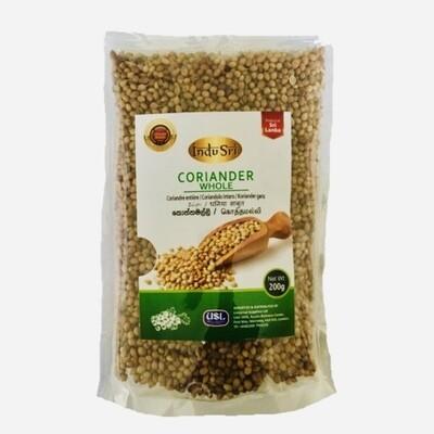 Indu Sri Coriander Seeds / කොත්තමල්ලි ඇට, 500g