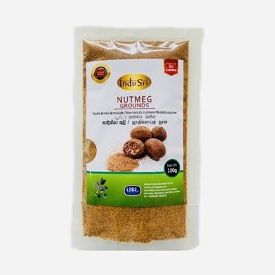 Indu Sri Nutmeg Powder / සාදික්කා කුඩු, 100g