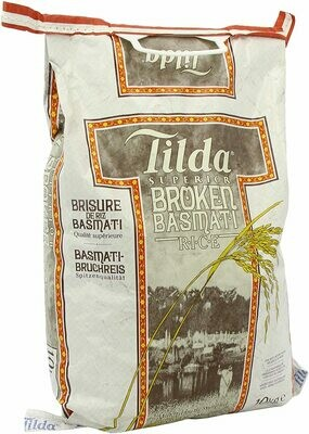 Tilda Superior Broken Basmati Rice, 10kg