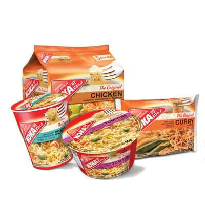 Koka Instant Noodles All Flavours, 85g - Buy any 3 for £1.50