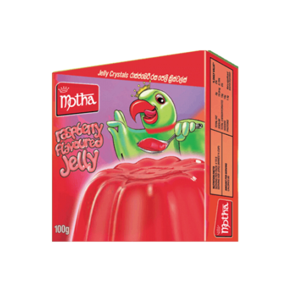 Motha Strawberry Flavoured Jelly Crystals, 100g
