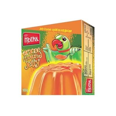 Motha Orange Flavoured Jelly Crystals, 100g