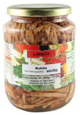 Larich Kohila in Brine / කොහිල, 450g