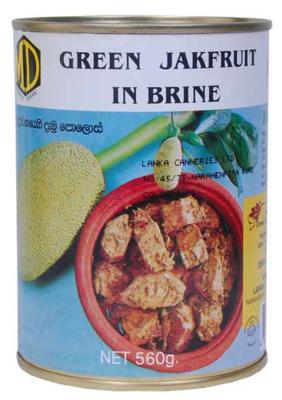 MD Green Jackfruit in Brine / පොලොස් 560g