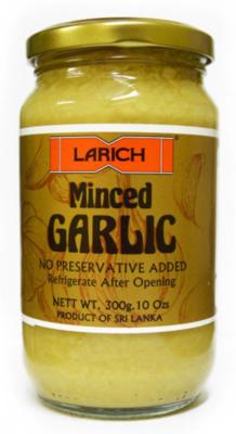 Larich Minced Garlic, 300g