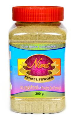 Niru Fennel Powder / මහදුරු කුඩු 200g