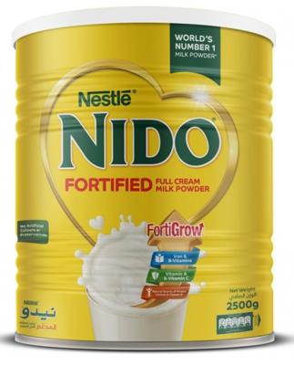 Nestle Nido Milk Powder, 2.5kg