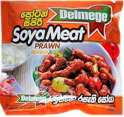 Delmege Soya Meat Prawn Flavour, 90g