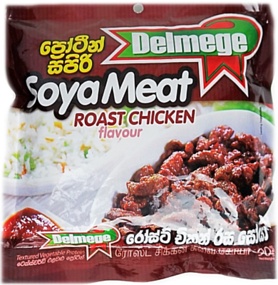 Delmege Soya Meat Roast Chicken Flavour, 90g
