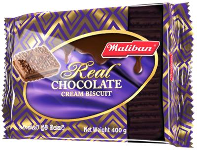 Maliban Chocolate Cream Biscuits, 400g