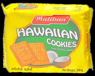 Maliban Hawaiian Cookies, 200g