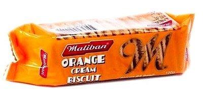 Maliban Orange Cream Biscuits, 100g
