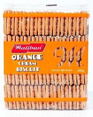 Maliban Orange Cream Biscuits, 400g