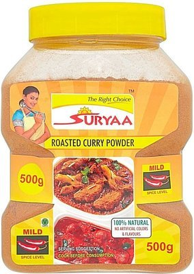 Suryaa Roasted Curry Powder - Mild, 500g