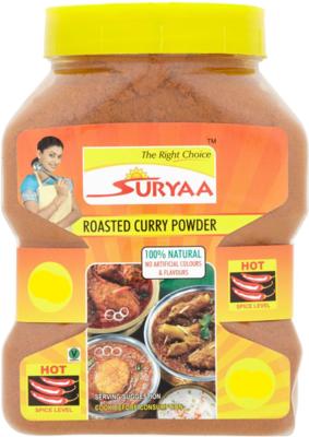 Suryaa Roasted Curry Powder - Hot, 900g