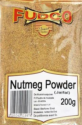 Fudco Nutmeg Powder / සාදික්කා කුඩු, 200g