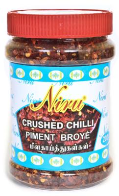 Niru Brand Crushed Red Chilli / කෑලි මිරිස්, 200g