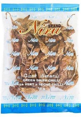 Niru Butter Chillies / මෝරු මිරිස්, 50g